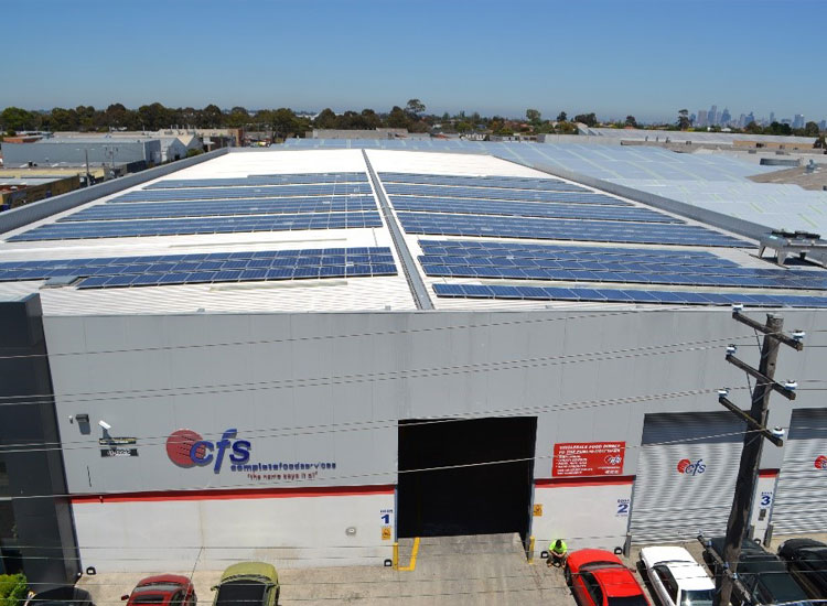 Complete Food Services – 200kW Roof Mount