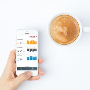 check your solar on the myredback app